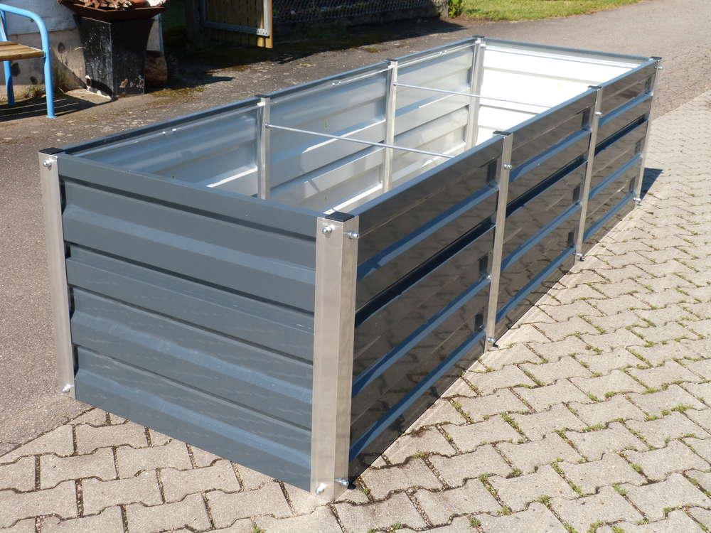 Hochbeet Metall Gr 1 Mtr Breit X 3 Mtr Lang 75cm Hoch Willkommen
